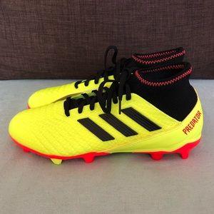 adidas Shoes - Adidas Predator 18.3 FG Solar Yellow Soccer Cleats
